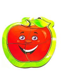 """<b>Пазл для малышей Taowa</b> Деревянный пазл """"Яблоко красное ..."""