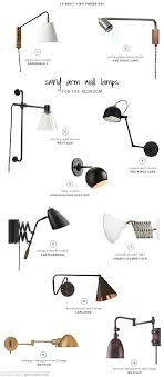 10 best swing arm wall lamps for the bedroom my paradissi bedside wall lighting