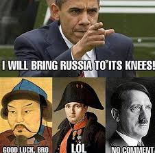 Image result for Obama tough on Russia