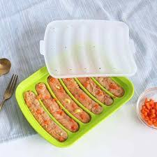 <b>1PC</b> Sausage Makers Silicone <b>Mold DIY</b> Hot Dog Handmade ham ...
