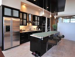 kitchen modern cabinets designs: view in gallery custom frosted glass cabinets perfect for the contemporary kitchen