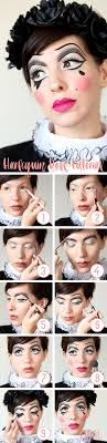 harlequin doll makeup tutorial keiko lynn