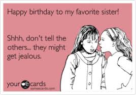 Funny Birthday Wishes Sister | Kappit via Relatably.com