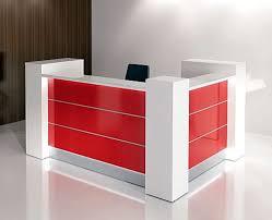 office front desk mdf modern design furniture reception desk black color furniture office counter design