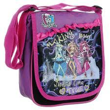 """Сумка-<b>планшет</b> """"<b>Monster High</b>"""", цвет: розовый, фиолетовый. 85302"""
