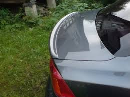 <b>Спойлер на кромку</b> багажника для Mitsubishi Lancer X