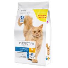 <b>Корм</b> для кошек PERFECT FIT домашнего содержания курица