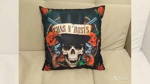 <b>Подушка Guns N' Roses</b> купить в Москве | Товары для дома и ...