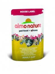 6шт <b>Almo Nature</b> 55гр с куриным филе и сыром <b>Rouge</b> label ...