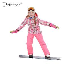 Free Shipping <b>Winter Outdoor</b> Children Clothing Set Windproof <b>Ski</b> ...