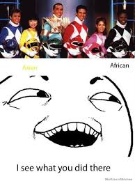 I See What You Did There Power Rangers | WeKnowMemes via Relatably.com