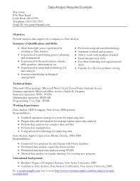 gis analyst resume samples cipanewsletter data analyst sample resumes template