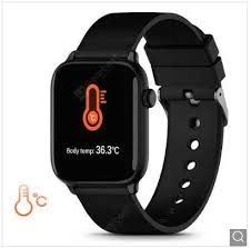 <b>TICWRIS GTS Real-time Body</b> Temperature Detect Smart Watch ...