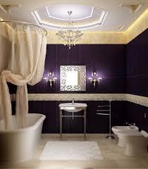 bathroom luxury vanity lighting purple