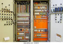 fuse box circuit breaker stock photos fuse box circuit breaker electricity distribution box wires and circuit breakers fuse box stock image