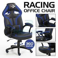 <b>RACING</b> GAMING <b>OFFICE CHAIR EXECUTIVE</b> LUMBAR SUPPORT ...