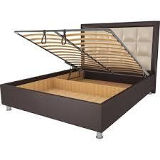 <b>Кровать Orthosleep Альба Шоколад</b>-<b>Бисквит</b> Механизм и Ящик ...