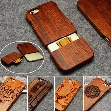 LYBALL Wooden Phone Case <b>100</b>% <b>Handmade Natural</b> Real Wood ...
