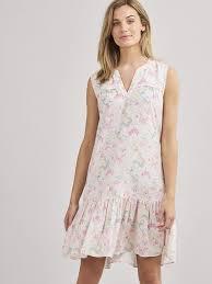 REPEAT - Women - Summer dress with <b>floral print</b> - <b>100</b>% <b>Viscose</b> ...