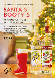 <b>Santa's Booty</b> 5 - Cocktail of the Month - December 2019 - The Dial