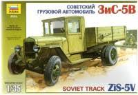 <b>Сборная модель Zvezda</b> Soviet Truck ZiS-5V (1:35)