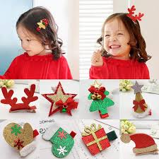 <b>LNRRABC 1PC</b> Children <b>Cute</b> Christmas Decorate Hairpins Multi ...