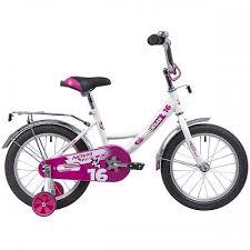 """Детский велосипед <b>14</b>"""" <b>Novatrack Urban белый</b> - купить в ..."""