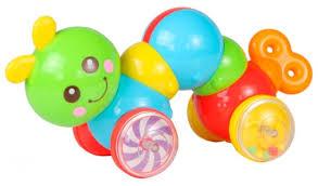 <b>Каталка</b>-игрушка <b>Huile</b> Plastic Toys <b>Гусеница</b> (Y1567385 ...