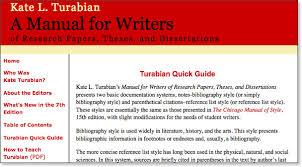 Turabian Citation Guide Via