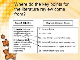 Characteristics of an Effective Literature Review