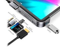<b>Хаб Baseus</b> Bend Angle No.7 Multifunctional (<b>USB</b>+HDMI+SD/TF+ ...