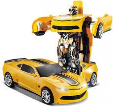 <b>Радиоуправляемый робот трансформер JiaQi</b> Chevrolet Camaro ...
