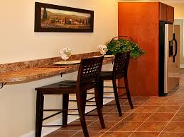 Kitchen Breakfast Bar Kitchen Breakfast Bar Against Wall Kitchen And Decor