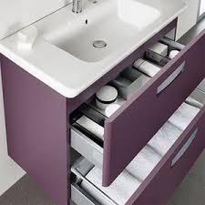Купить <b>Тумба с раковиной Roca</b> Gap 70 фиолетовая ...