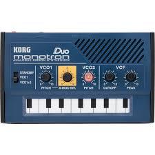 <b>Синтезатор Korg Monotron</b> Duo