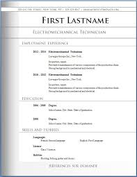 resume format job varieties of templates and  standard cv format    cv resume format