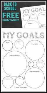best ideas about school goals how to study perfect printable for back to school goal setting for kids