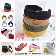 <b>Fashion</b> Bow <b>Knot</b> Hair band Women Hoop <b>Simple</b> Sweet Girl Hair ...