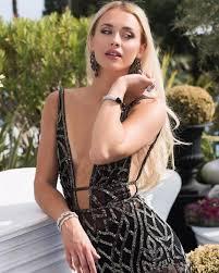 2020 New <b>Black Full Bead Mermaid</b> Evening Gowns Sheer V Neck ...