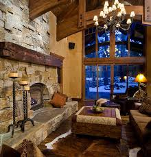 Lodge Living Room Decor Decor Tips Cozy Rustic Living Room Ideas For Your Marvellous Wall