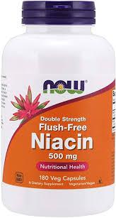 NOW Supplements, <b>Niacin</b> (Vitamin B-3) 500 mg, <b>Flush</b>-<b>Free</b> ...