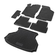 <b>Комплект ковриков салона и</b> багажника Rival для Lada Granta ...