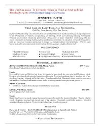 resume template child care worker latest resume sample resume resume template child care worker latest resume sample resume