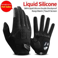ROCKBROS Windproof <b>Cycling Gloves</b> Touch Screen Thermal ...