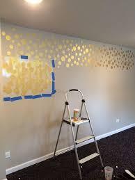 painting bedroom golden stenciled bedroom wall hometalk
