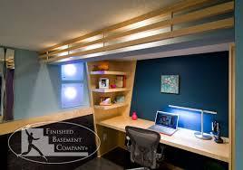 basement office design with well basement office design home office on pinterest impressive basement office design ideas