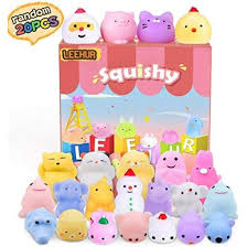 <b>LEEHUR</b> Mochi Squishies Toys Birthday Party Favors For Kids ...