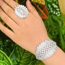 2019 <b>SISCATHY</b> Exquisite Women Bangle Bracelet/Ring <b>Luxury</b> ...