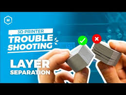 3D Printing Troubleshooting Guide: Layer Separation - YouTube