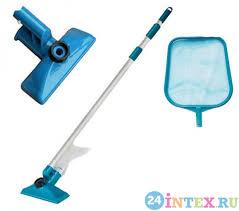 <b>Набор</b> для чистки <b>бассейна</b> до 488 см (ручка 239 см, сачок и ...